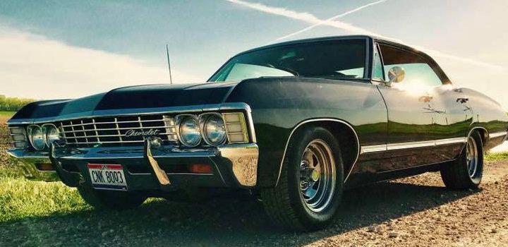 Supernatural Mary the Impala at Jet City Comic Show 2018