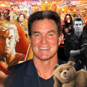 Actor Sam J. Jones appearing at Jet City Comic Show 2018