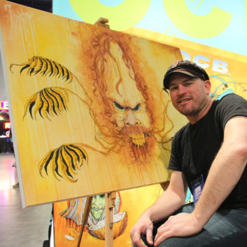 Sean Dietrich at Jet City Comic Show