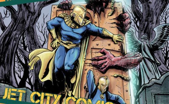 Ibrahim Moustafa is coming back to Jet City Comic Show!