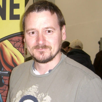 Mike Mckone a guest at Jet City Comic Show