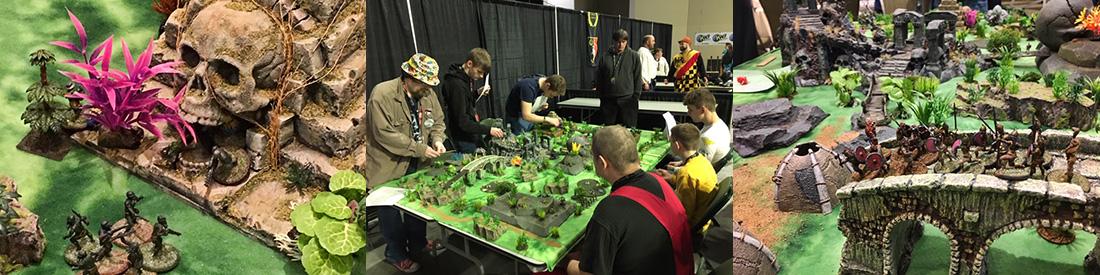 Bruce Smith: Battle of Grayskull Temple Miniatures Game