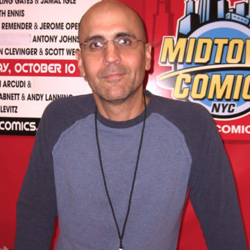 John Arcudi a guest at Jet City Comic Show 2019