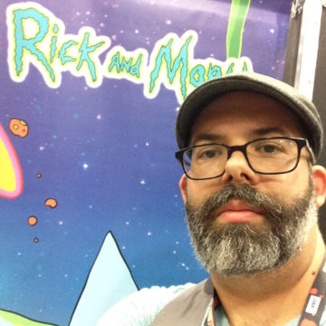 Kyle Starks is a guest at Jet City Comic Show 2019