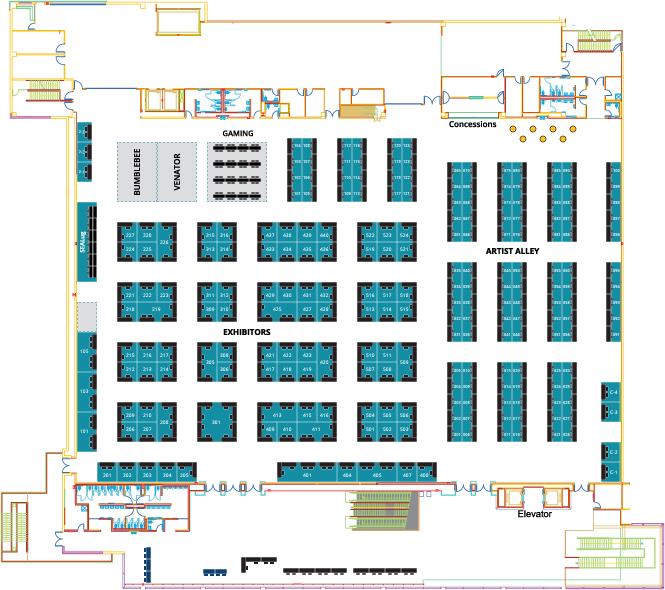 Show Floor Map